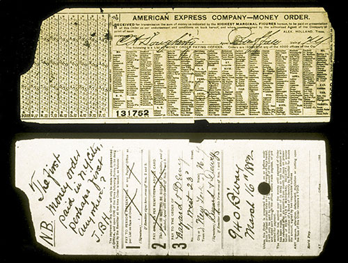 Very old American Express Money Order