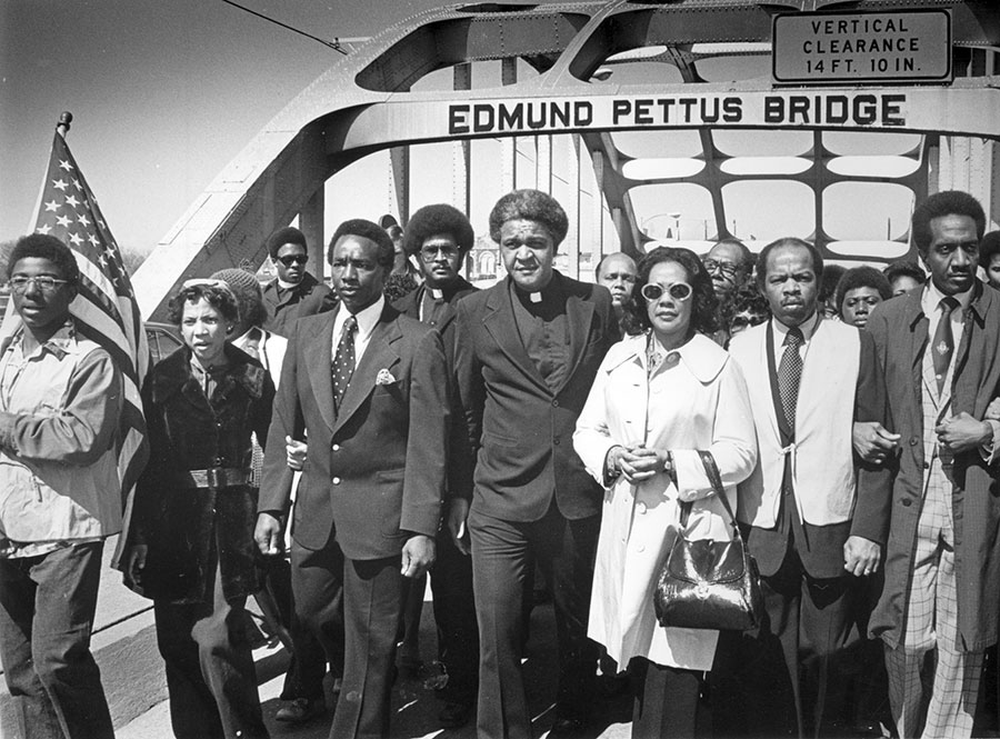 Crossing Edmund Pettus Bridge Anniversary