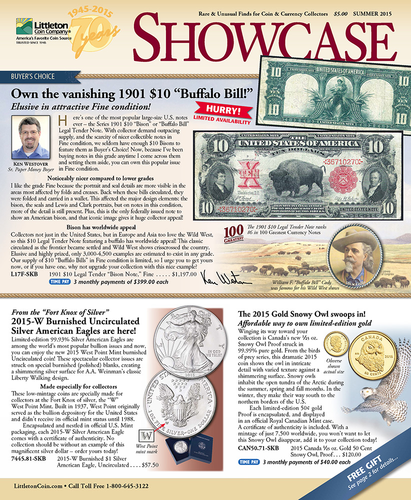Littleton Coin Company Showcase publication