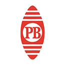 Pitney Bowes logo with large P and B letters