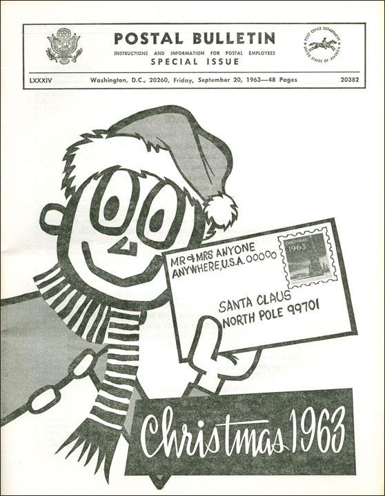 ¡Mr. ZIP se convierte en ayudante de Santa Claus!
