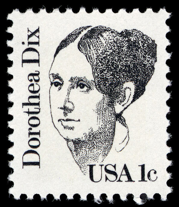 1-cent Dorothea Dix stamp