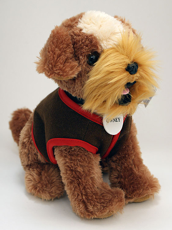 brown stuffed toy dog