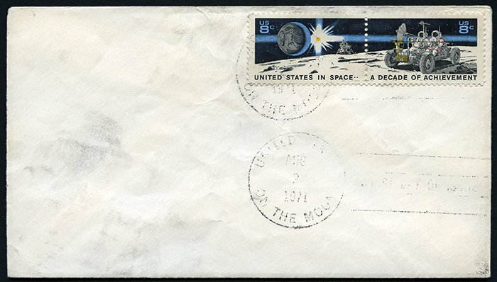 Apollo 15 Lunar Mail cover