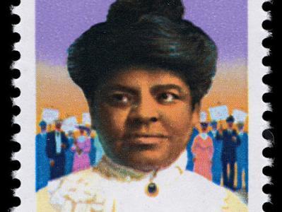 25-cent Ida B. Wells stamp
