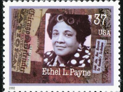 37-cent Ethel L. Payne stamp