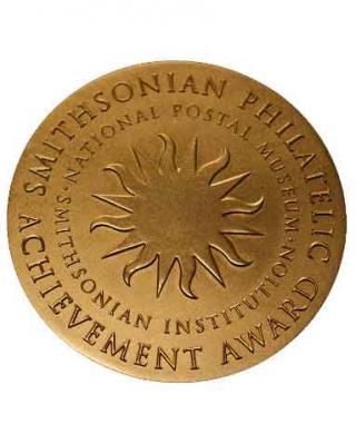 Smithsonian Philatelic Achivement Award