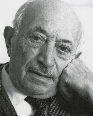 Photograph of Simon Wiesenthal