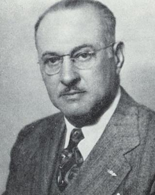 headshot of Benjamin B. Lipsner