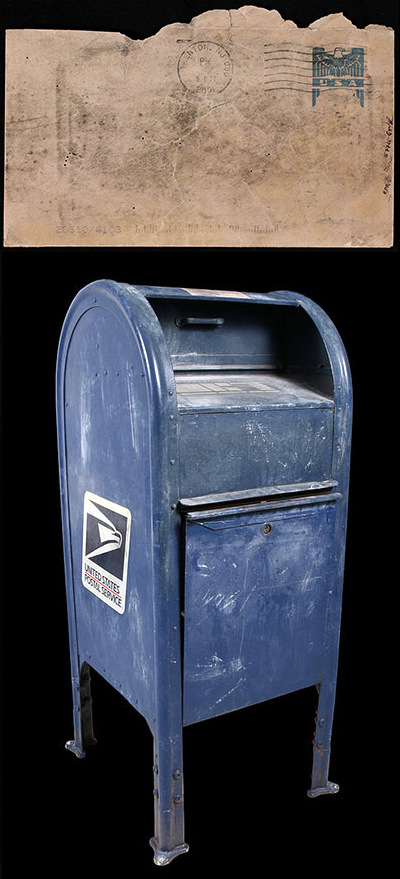 Anthrax Letter and Mailbox